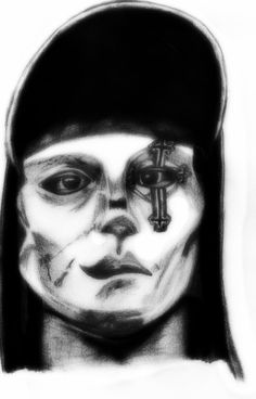 Hollywood Undead - Danny (WIP) by deathlouis on DeviantArt Hollywood Undead, Deviantart, Portrait, Drawing Ideas, Drawings, Army, Ideas For Drawing, Gi Joe, Headshot Photography