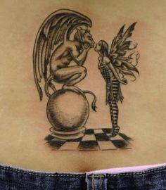 Gothic Fairy Tattoos | Fairies Tattoos, Fairy Wings Tattoos