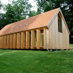 Une maison familiale, simple et écologique