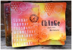 Art Anthology Inspiration Art Journaling Page- Stacy Rodriguez