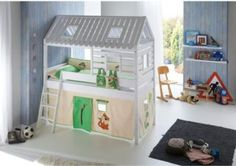 Spielbett Toms Hütte Jetzt bestellen unter: https://moebel.ladendirekt.de/kinderzimmer/betten/hochbetten/?uid=d62ddc7f-c1c2-56c2-9123-8de11bf5b9de&utm_source=pinterest&utm_medium=pin&utm_campaign=boards #kinderzimmer #kleinkindmöbel #hochbetten #betten