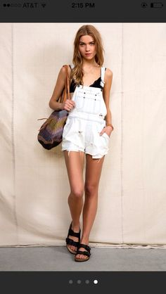 can't believe I'm saying this but overalls with crop tops are growing on me!
