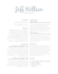 35 best elegant resume templates images in 2018 resume cover