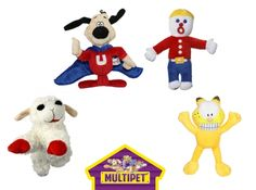 Retro Dog Toys: Garfield, Mr Bill, Underdog, Lambchop are all featured today @ Coupaw.com w/ free shipping