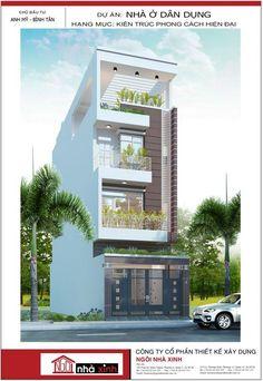 Mẫu nhà phố đẹp với thiết kế mở sẽ tiết kiệm được năng lượng lại mang đến không gian sống  trong lành và thoải mái