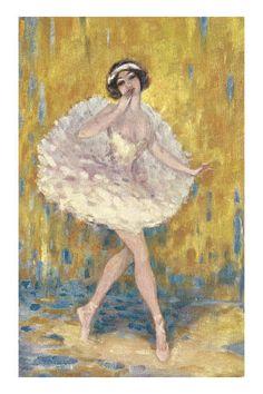 Danseuse de ballet Premium Poster