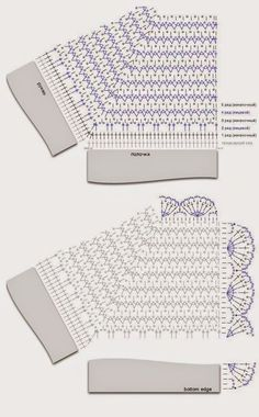 Crochet Girls Coat + Diagrams + Free Pattern (ergahandmade) You are in the right place about hand knitting Here we offer you the most beautiful. Crochet Vest Pattern, Crochet Jacket, Crochet Diagram, Crochet Stitches Patterns, Crochet Chart, Baby Knitting Patterns, Free Pattern, Crochet Motif, Pattern Ideas