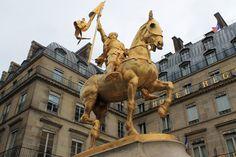 Monumento a Juana de Arco -  París