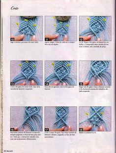 tutorial cinturon macrame 2