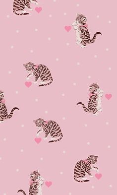 Image uploaded by funhh. Find images and videos about pink, cat and wallpaper on We Heart It - the app to get lost in what you love. Cocoppa Wallpaper, Wallpaper Wa, Cute Wallpaper Backgrounds, Animal Wallpaper, Pretty Wallpapers, Aesthetic Iphone Wallpaper, Cat Background, Graffiti Wall Art, Cute Patterns Wallpaper