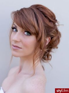 21 Most Beautiful Wedding Hairstyles with Bangs - . - - 21 Most Beautiful Wedding Hairstyles with Bangs - Wedding Hair Front, Wedding Hair Bangs, Wedding Hairstyles For Medium Hair, Prom Hair Updo, Wedding Hair And Makeup, Bride Hairstyles, Hairstyles With Bangs, Wedding Updo, Wedding Vows