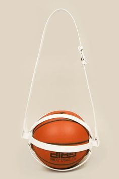 handcrafted leather basketball cage by fleet ilya