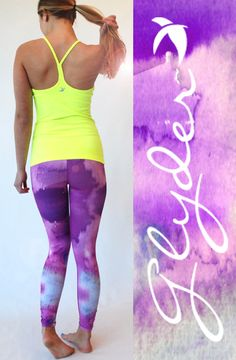 "Awesome "" Chakra"" Leggings from Glyder Apparel www.work-sweat-play.com"