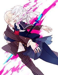 Fuyuhiko and peko WHY DO I SHIP IT SO MUUUUCH