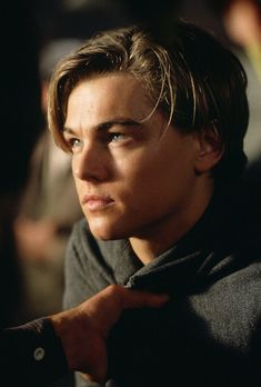 Still of Leonardo DiCaprio in Titanic (1997)