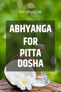 Abhyanga for Pitta Dosha. The benefits of Abhyanga for Pitta types lie mostly in the cooling effects achieved by gently massaging the entire body. This will loosen toxins and aid their elimination without creating too much heat. Moderate pressure should be used for Pitta massage.  #ayurveda  #ayurvedicliving  #ayurvedalifestyle  #ayurvedaforlife  #ayurvedicmedicine  #doshas #pranayama  #Kapha  #Pitta  #Vata Ayurvedic Therapy, Ayurvedic Healing, Ayurvedic Recipes, Ayurvedic Medicine, Holistic Medicine, Pitta Dosha Diet, Ayurveda Pitta, Ayurvedic Practitioner, Massage