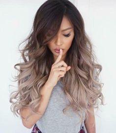 ¿Eres morena y no sabes que color te queda bien en el cabello? Aquí tu solución #Hairstyle #Brunette #LongHair #Shh