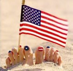{ i love my country... + pedicures }