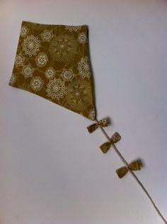 Cerf volant tissu japonais pour décoration chambre d enfant ou de bébé : Décoration pour enfants par sheren