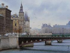 Thierry Duval - Un hiver a Paris
