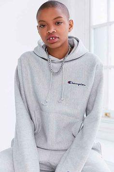 a995977544a9 Champion + UO Mini Logo Hoodie Sweatshirt