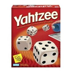 Yahtzee is fun to play after Thanksgiving lunch! :)