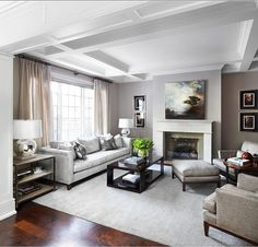 awesome Living Room. Living Room Decor. Gray Living room with transitional decor. #Livin... by http://www.best99-homedecorpictures.club/transitional-decor/living-room-living-room-decor-gray-living-room-with-transitional-decor-livin/
