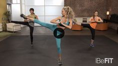 30 Day Fat Burn: Legs and Butt Shaper Workout is an explosive 10-minute lower body fat-burning workout that is designed to target tone the hips, thighs, legs, and buns using an effective blend of cardio exercise, strength training, plyometrics and body resistance moves to burn calories as you firm and tone your lower half. This workout routine feat