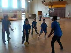 ▶ Volleyball Coaching Tutorial for Beginners and Students Age 9-14 - YouTube