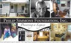 Philip Simmons Foundation - nostalgic for our trips to Charleston and so admiring the work of this amazing artist that we had the good fortune to meet.