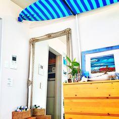 California0809さんの、WTW,西海岸,ビーチスタイル,西海岸インテリア,カリフォルニア風,ひとり暮らし,Bcompany,かがみ,サーフボード,サーフボードラック,壁/天井,のお部屋写真