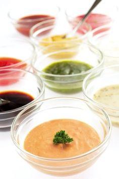 Receita de Molhos para Saladas - Receitas de Mãe