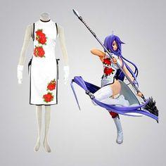 Graceful Ikki Tousen Kanu Unchou Cosplay Costume