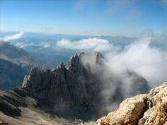 Gran Sasso - Corno Piccolo http://www.uniquevisitor.it/abruzzo/parchi/parco-nazionale-gran-sasso/foto-corno-piccolo-gran-sasso.php