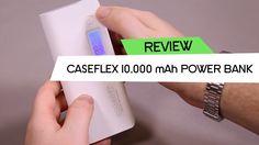 Caseflex Universal 10,000 mAh Portable Rechargeable Powerbank