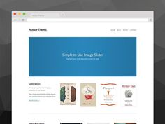 Author Theme for WordPress by OriginalThemes on @creativemarket