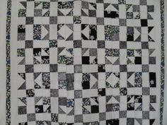 Tic tac toe quilt pattern with tutorial from www.ludlowquiltandsew.co.uk