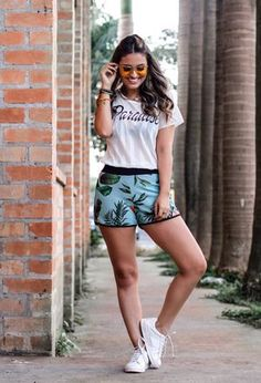 473008d69116 My outfit with my light green shorts of clube so