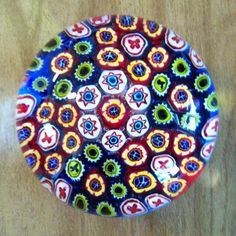 another of my Millefiori paperweights
