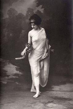 Unknown risque portrait c.1920s