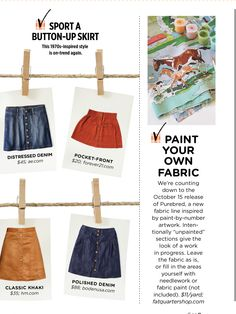 Paint your own fabric