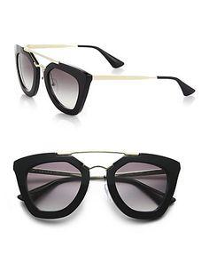 Prada - Cat's-Eye Sunglasses - you who came from the stars, my love from the star, jun ji-hyun, cheon song yi