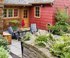 This is an article about curb appeal, but I'm bookmarking for that beautiful color (like brick).