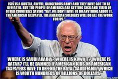 Yes!!! Tell them Bernie!!!