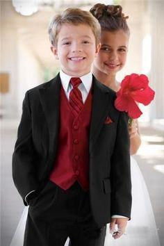 Free shipping Custom Made White Boy's Formal Occasion Children Wedding Suit Boys Attire/Bespoke Kid Tuxedos