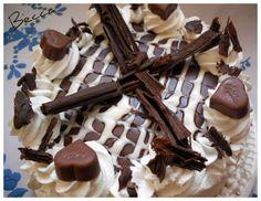 Milka torta Panna Cotta, Waffles, Cereal, Stuffed Mushrooms, Pudding, Vegetables, Breakfast, Food, Kitchens