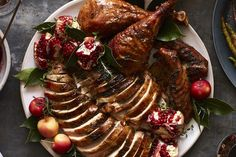 Herb Roasted Turkey - What's Gaby Cooking