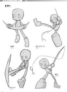 anime pose chibi - Recherche Google