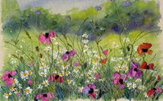 Meadow with Poppies 3