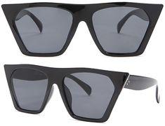 de85055f918 Forever 21 Square Frame Sunglasses in black (Céline CL 41468 Edge dupe)   https